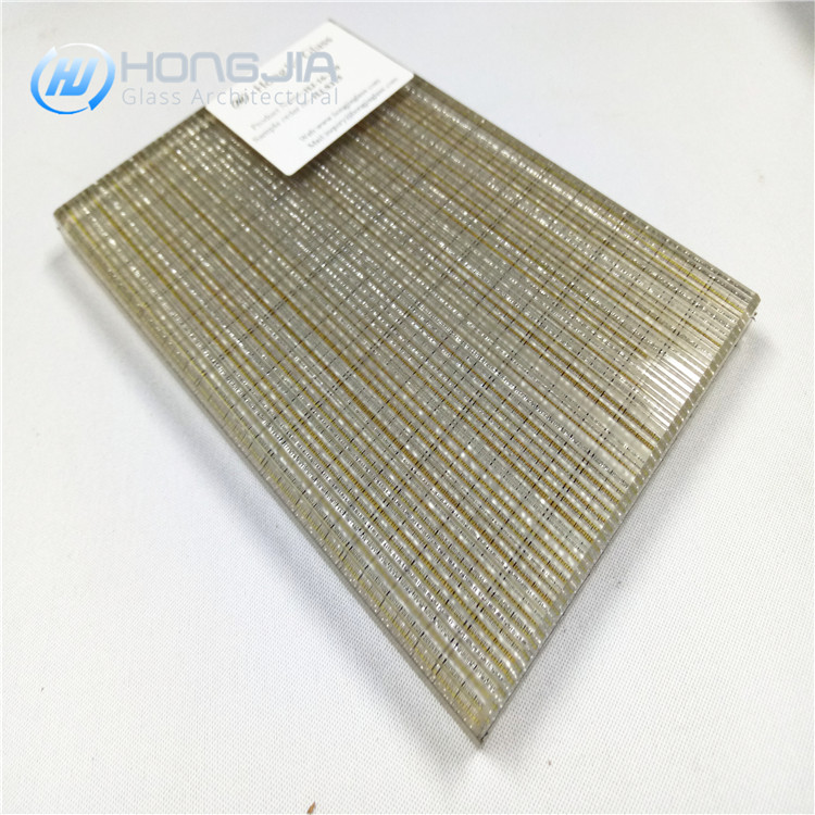 Hongjia EVA Fabric Laminated Glass Panel Decorative Laminated Glass Manufacturer