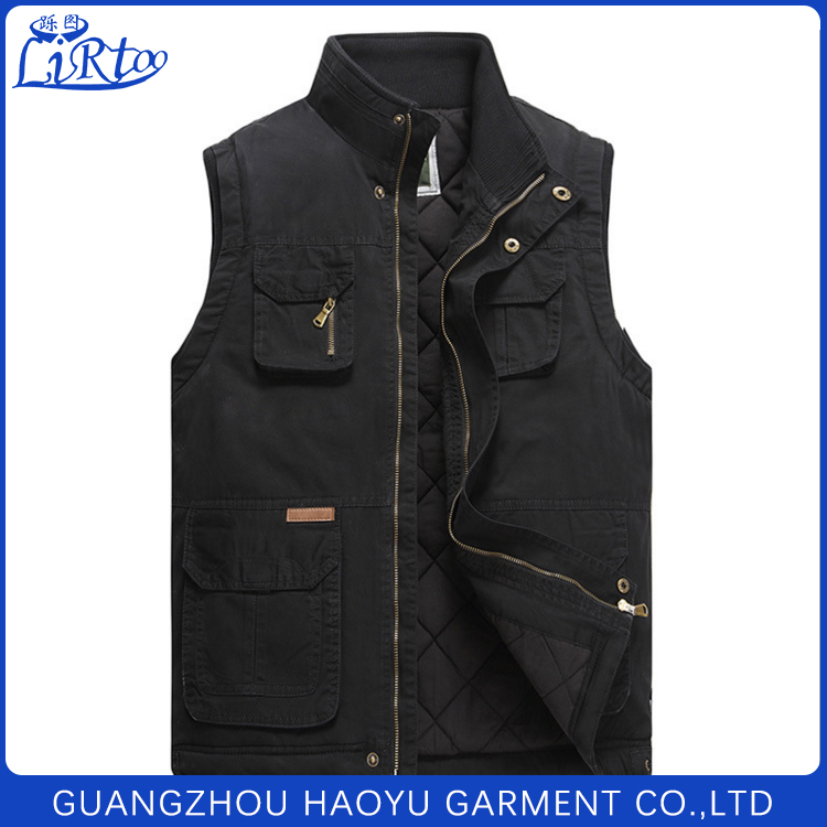 New innovative fashion photographer vest demin jacket