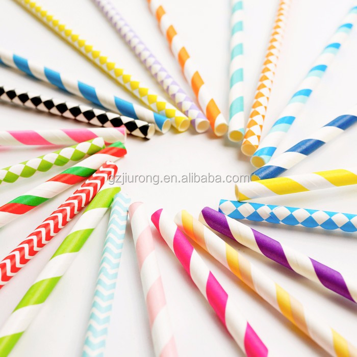 2017 Hot sale Baby Shower/Wedding /Party Paper Straws