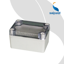 SAIP/SAIPWELL Wiring Junction Box ABS Clear Cover DS-AT-0609 65*95*55 IP65 Electric Waterproof Plastic Box with Cover