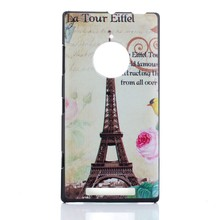 Eiffel Tower Case for Nokia 830,for Nokia 830 Hard case cover