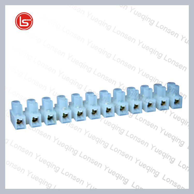 Used for home wire electronic circuit Null wire connector screw clamp u/h type plastic terminal blocks