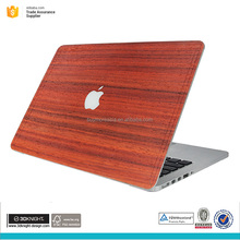 High quality laptop wooden skin for Macbook, for macbook sticker cover