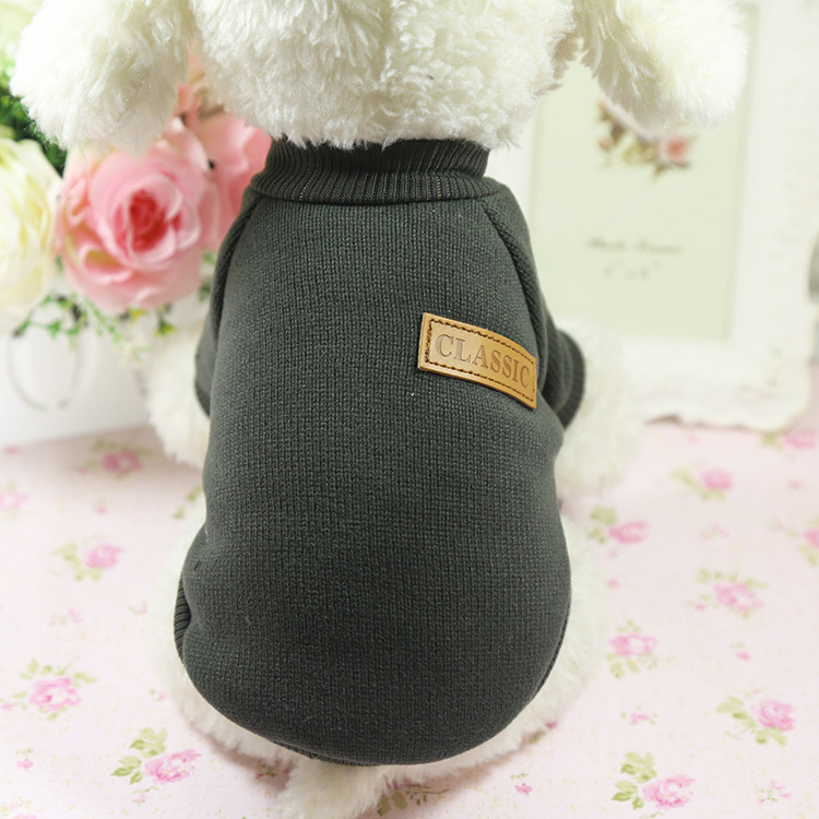 Good price pet apparel winter cheap dog clothes for small dogs