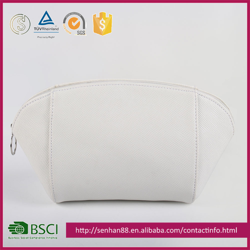online shopping white Support custom logo ODM OEM case luxury cosmetic bag transparent