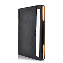 Magnetic Leather Slim Smart Cover For Apple iPad 4 3 2 For iPad Air 2 +Crystal Transparent Hard Back Shell Case Tan Case