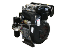 Sale 20hp 4-stroke air-cooled 2 cylinder small diesel engines for sale