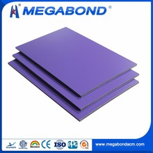 Megabond decorative aluminum paneling,aluminum decorative composite wall panel