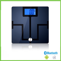 Household medical human personal health weighing electronic digital smart wireless app free bluetooth body fat bathroom scale