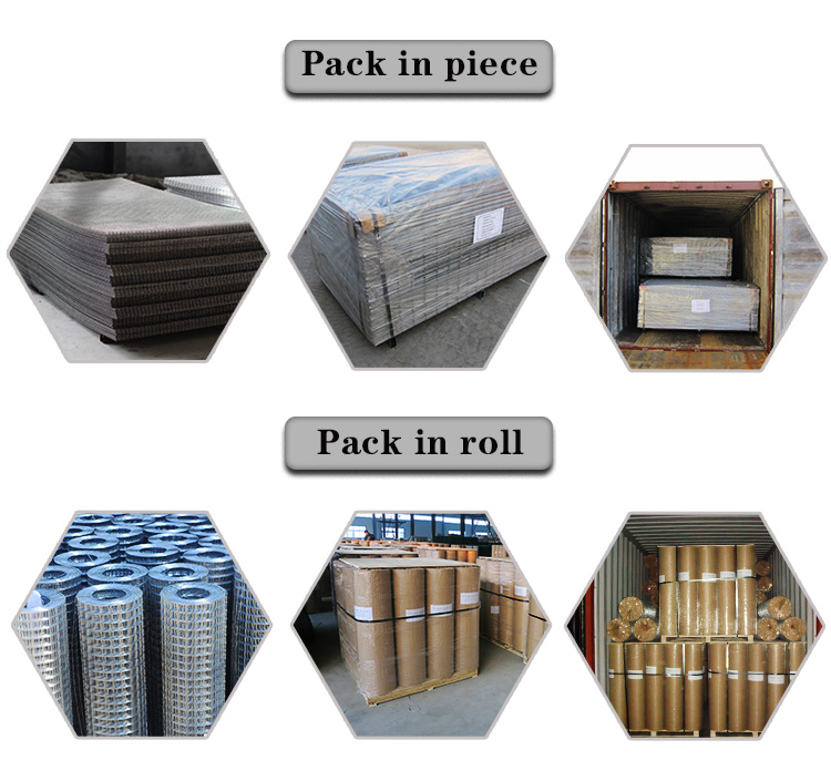 Factory Price SS Welded Wire Mesh / Welded Stainless Steel Wire Mesh From AnPing