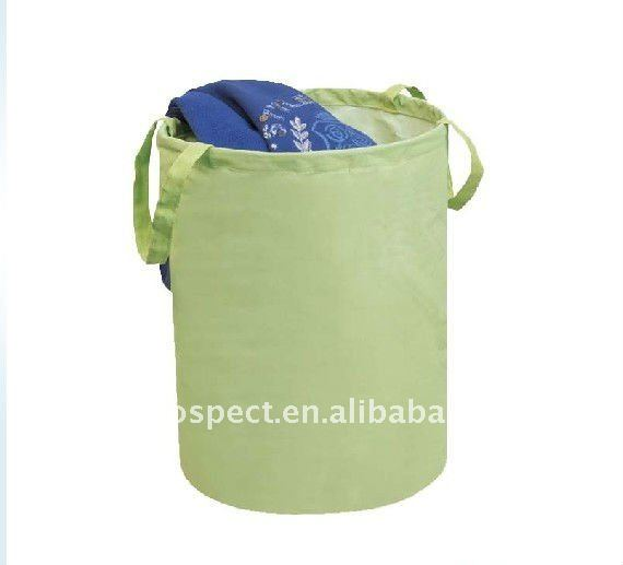 2011 canvas fabric pop up laundry bag