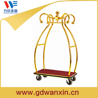 cheap price high quality hotel luggage trolley