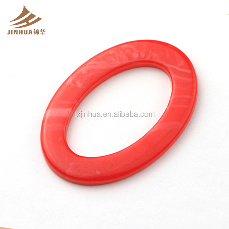 Best Saler Good Quality Popular Red Color Butterfly Shape Plastic O Shape Swimwear Strap Fastener