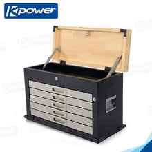 Master Hand Trailer 24 Inch Tool Box With Wooden Top