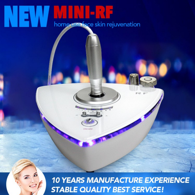 Mini Skin Tightening Machine Portable RF Wrinkle Removal Machine For Home Use