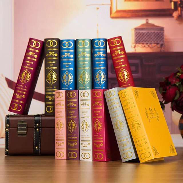 Decorative design custom fake book <strong>box</strong> wholesale