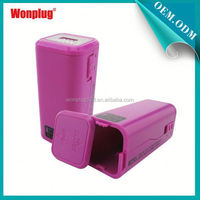2014 newest designed top sales AA batteries power bank harga for samsung galaxy s3