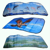Aluminum Film Paper Front Auto Glass Solar Screen Sun Protection for Car