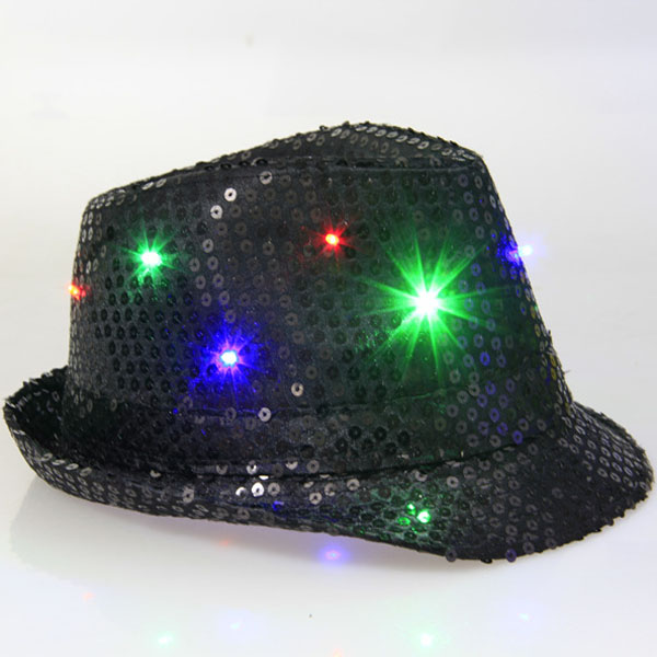 Factory supplies led cap Promotional Flashing Lights Various Color Led hat