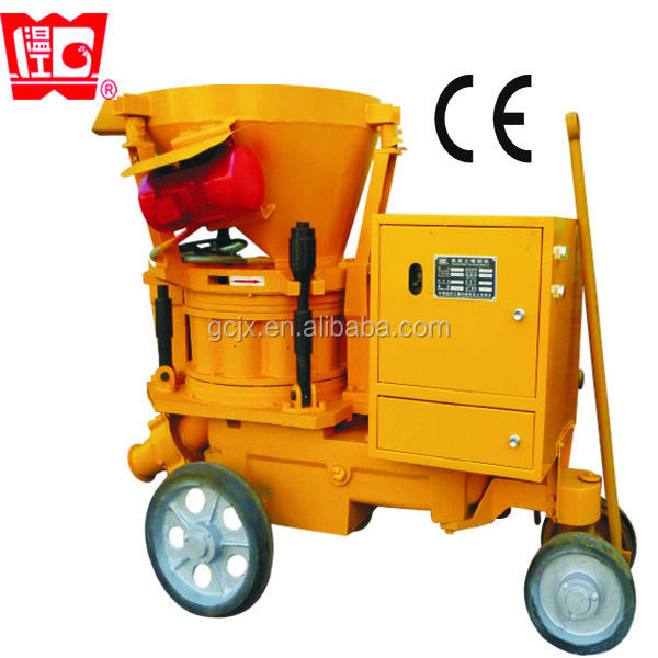 concrete spraying machine for sale