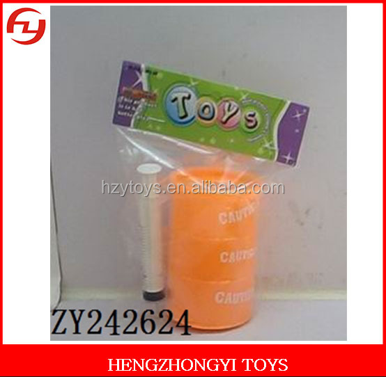 Novelty 1 cylinder sand skin glue colorful oil slime joke toy for All Fools' Day
