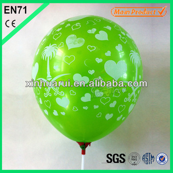 Hot sell 2.2g All Printing Balloon For Party Decoration