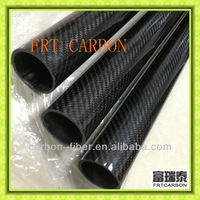 RC models carbon tubes with 3K twill weaving glossy optic 22mm 25mm 30mm