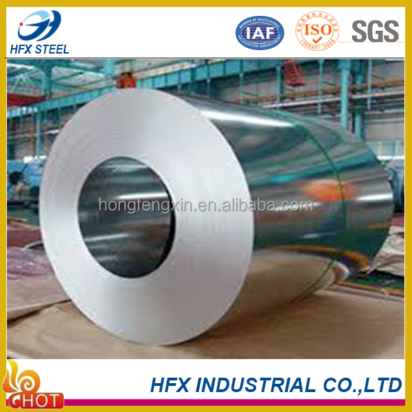 2016 High quality Zinc coating steel coil from HFX STEEL