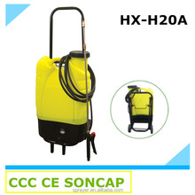 Portable Rechargeable Backpack Electric Agricultural Power Sprayer with Wheels (HX -H20A)