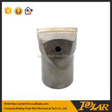 Rock drilling bucket flat teeth tungsten carbide teeth replacable tooth