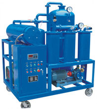 purifying and reconditioning the used hydraulic oil, oil purifier, oil regeneration
