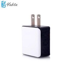 Phone Accessories Cube shape Dual port Android tablet wall charger