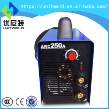 Portable arc 250 mosfet inverter welding machine set