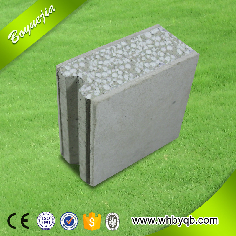 Lightweight Thermal Insulated EPS Foam Concrete Wall Panels