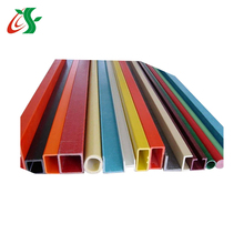 factory price frp pultrusion grp pipe with customized colour