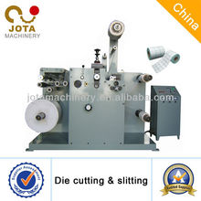 Self Adhesive Label Roll Kiss Cutting Machine