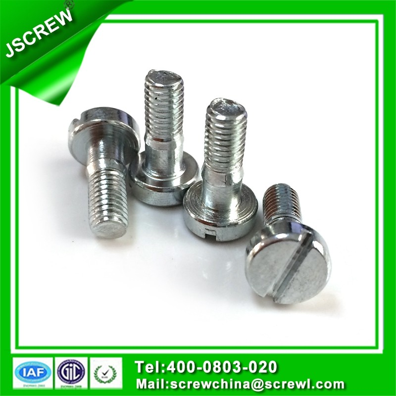 galvanized round flat head screws m6 size