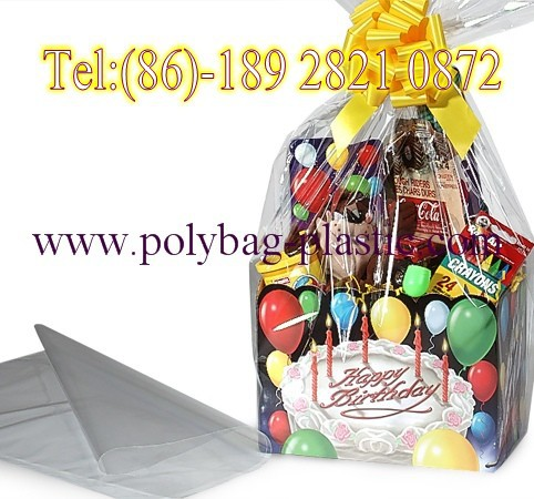 2015 Small Gift Bags/Custom Printed Cellophane Bags