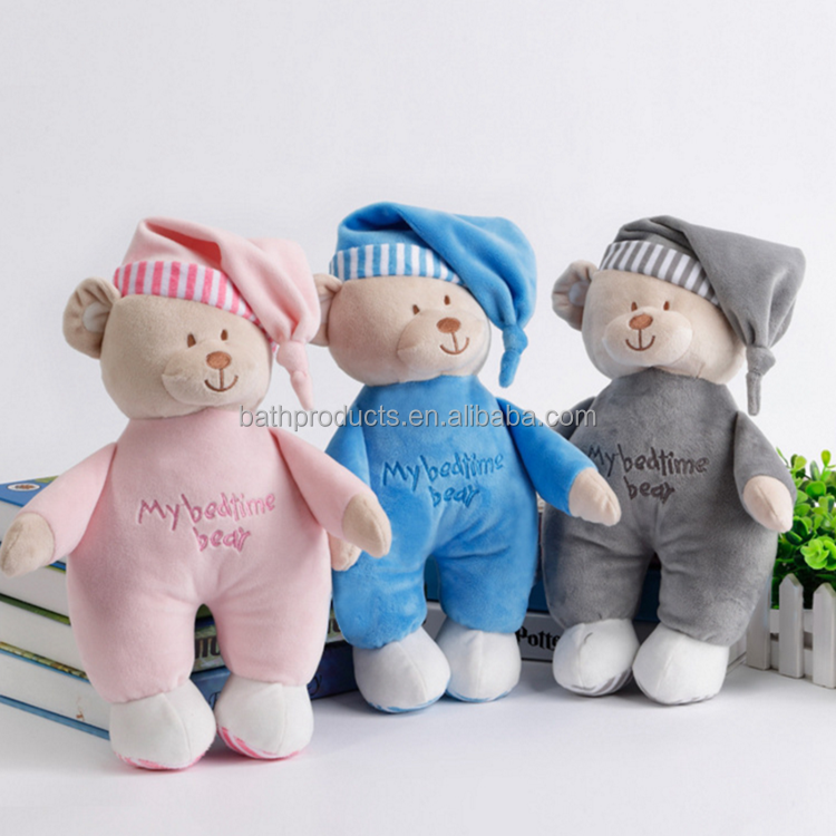 Organic cotton newborn plush toy with series appease toy