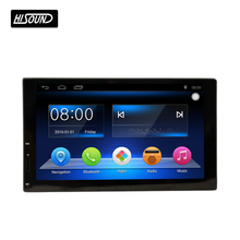 Android 6.0 2din universal 7inch capacitive touch screen gps bluetooth car audio china