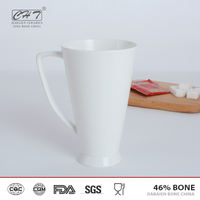 Wholesale china reusable unbreakable ceramic coffee mug big cup for bar and club