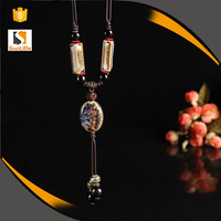 Beautiful tassel chains jewelry bead accessories for women necklace