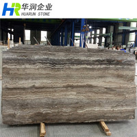 Iran Silver Grey Travertine Floor and Wall Tiles