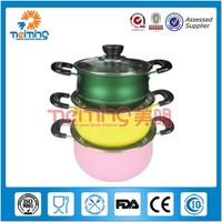 Food grade stainless steel cooking pots /multifunctional cooking pot