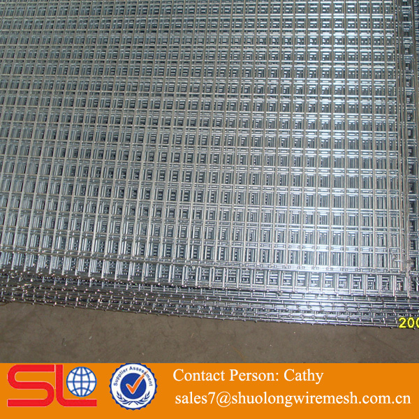 3/8 inch galvanized rebar welded wire mesh panel low price ISO certification