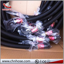 AN-8 Fuel Oil Brake Line 200 Series PTFE Teflon STAINLESS STEEL Braided Hose