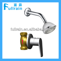Simple Complete Set for Concealed Shower Fitting with Cold-only Shower Faucet and Shower Head