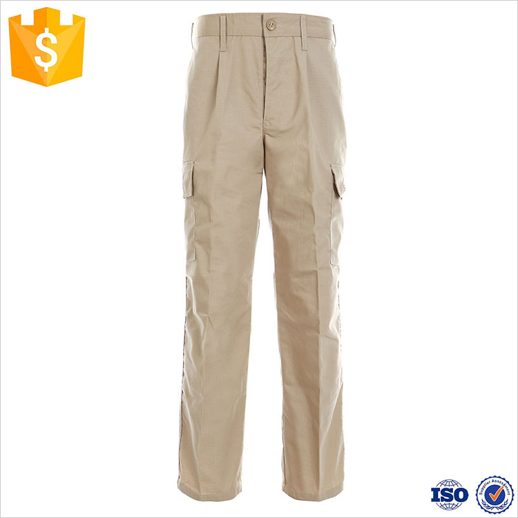 FBP015 Khaki Color Camouflage Cargo Pants