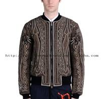 side pocket double face long sleeve winter jacket