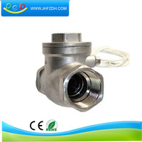 1 inch stainless magnetic control fuel flow sensor